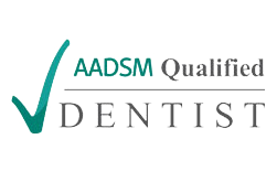 AADSM Qualified Dentist logo